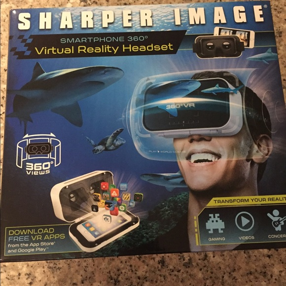 Other Sharper Image Virtual Reality Headset Poshmark